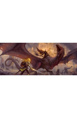 The Flame of the West Playmat (The Lord of the Rings: The Card Game)