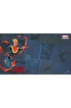 Marvel Champions : Captain Marvel Playmat