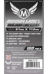 Mayday French Tarot Sleeves (61x112mm) - 100 stuks