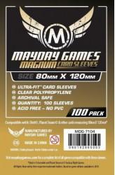 Mayday Magnum Sleeves (80x120mm) - 100 stuks