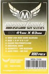 Mayday Mini American Sleeves (41x63mm) - 100 stuks