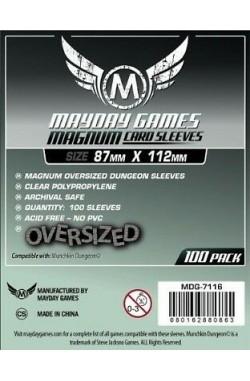 Mayday Oversized Dungeon Sleeves (87x112mm) - 100 stuks