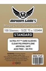 Mayday Mega Civilization Sleeves (75x105mm) - 100 stuks