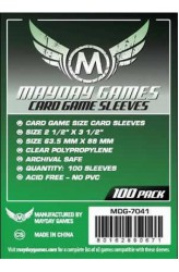 Mayday Standard Card Sleeves (63.5x88mm) - 100 stuks