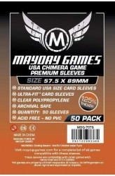 Mayday USA Chimera Sleeves Premium (57.5x89mm) - 50 stuks
