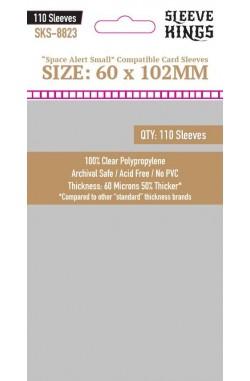 Sleeve Kings Space Alert Small Card Sleeves (60x102mm) - 110 stuks