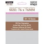 Sleeve Kings Hogwarts Battle Square Card Sleeves (76x76mm) - 110 stuks