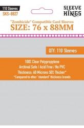 Sleeve Kings Zombicide Card Sleeves (76x88mm) - 110 stuks