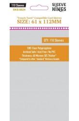 Sleeve Kings French Tarot Card Sleeves (61x112mm) - 110 stuks
