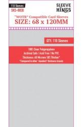 Sleeve Kings WOTR Card Sleeves (68x120mm) - 110 stuks