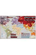 Twilight Struggle Mounted Map