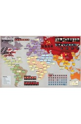 Twilight Struggle Mounted Map
