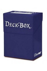 Ultra Pro 80 Card Deck Box - Donkerblauw