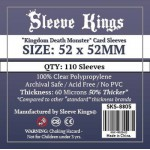 Sleeve Kings Kingdom Death Monster Card Sleeves (52x52mm) - 110 stuks