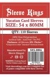 Sleeve Kings Yucatan Card Sleeves (54x80mm) - 110 stuks