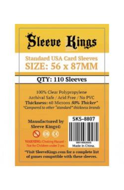 Sleeve Kings Standard USA Card Sleeves (56x87mm) - 110 stuks