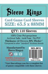 Sleeve Kings Card Game Card Sleeves (63.5x88mm) - 110 stuks