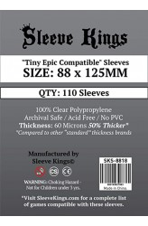 Sleeve Kings Tiny Epic Compatible Sleeves (88x125mm) - 110 stuks
