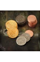 50 Metal Coin Board Game Upgrade Set