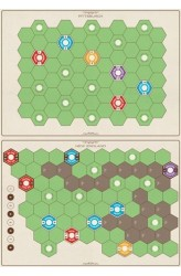 Age of Steam Deluxe: Expansion Maps - New England/Pittsburgh and Switzerland