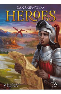 Preorder -  Cartographers Heroes (EN - retail edition)  (verwacht oktober 2021)