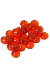Chessex Glass Gaming Stones - Orange