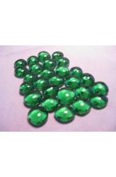 Chessex Glass Gaming Stones - Light Green