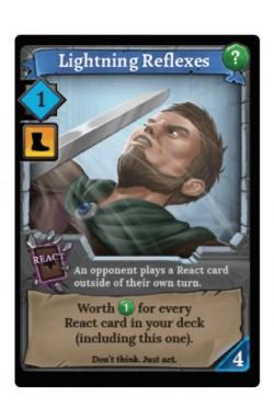 Clank! Adventuring Party: Lightning Reflexes Promo Card
