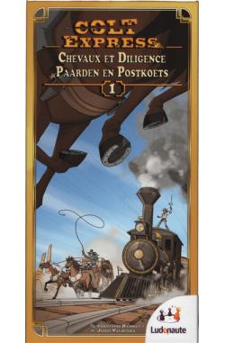 Colt Express: Paarden en Postkoets