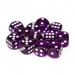 Chessex Dobbelsteen 16mm Translucent Paars