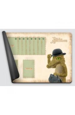Dale of Merchants One Player Playmat - Dwarf Crocodile
