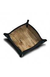 Neoprene Dice Tray - Hout