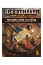Gloomhaven: Jaws of the Lion: Removable Sticker Set and Map