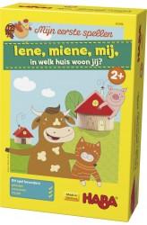 Mijn eerste spellen: Iene, Miene, Mij, in welk huis woon jij? (2+)