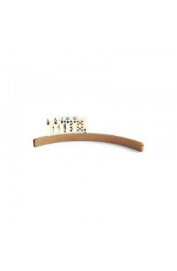 Kaarthouder hout medium 35 cm