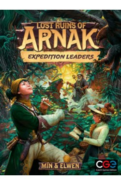 Preorder - Lost Ruins of Arnak: Expedition Leaders (verwacht oktober 2021)