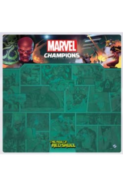 Marvel Champions: The Card Game : The Rise of Red Skull 4 Player Mat