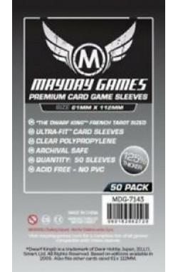 Mayday French Tarot Premium Sleeves (61x112mm) - 50 stuks