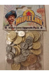 Meeple Land: Metal Coins Upgrade Pack