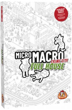 Preorder - MicroMacro: Crime City – Full House(NL) [verwacht Q3 2021]