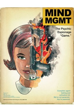 """Mind MGMT: The Psychic Espionage """"Game."""""""
