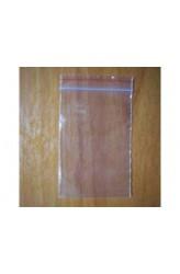 Plastic zakjes met zipsluiting 85mm x 133mm (100 stuks)