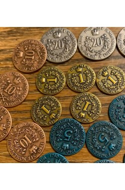 Rococo Deluxe: Metal Coins