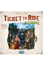 Preorder - Ticket to Ride: Europe – 15th Anniversary (NL) [verwacht eind juni 2021]