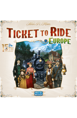 Preorder - Ticket to Ride: Europe – 15th Anniversary (NL) [verwacht eind juni 2021]