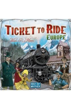 Ticket to Ride Europe (EN)