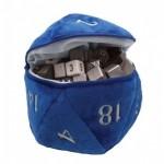 Ultra Pro Dice Bag D20 Pluche - Blauw