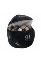 Ultra Pro Dice Bag D20 Pluche - Zwart