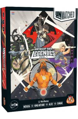 Unmatched: Gevecht der Legendes (NL) + promo pack