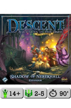 Descent: Journeys in the Dark (Second Edition) – Shadow of Nerekhall
